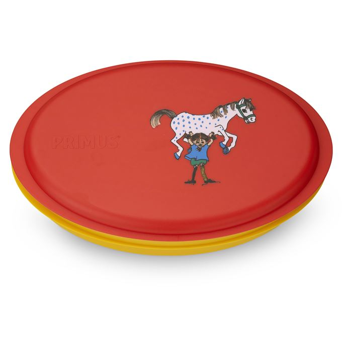 Primus Meal Set Pippi Red Plates & Bowls Red Main