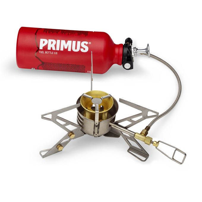 Primus OmniFuel II w. Bottle & Pouch Expedition Stoves Grey Main